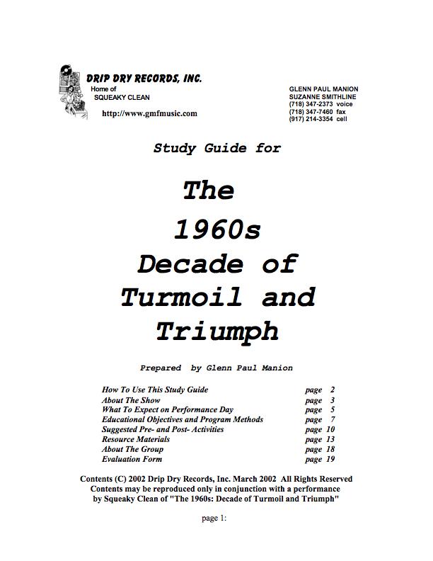 60s TNT Study Guide